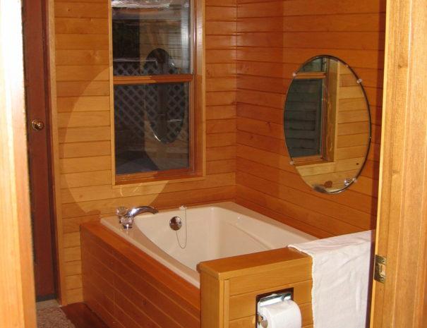 KEMA House on Hornby Island - Master Bath