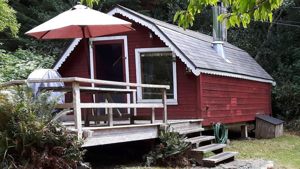 KEMA Cabin Accommodation on Hornby Island